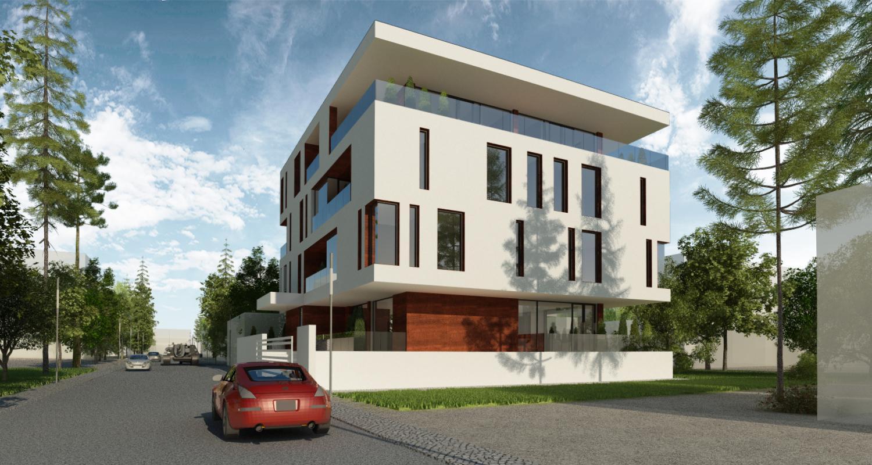 Proiect Imobil Rezidential cu 10 apartamente Galati | Concept Design Imobil Rezidential cu 10 apartamente cod R222, Galati | proiect din portofoliul CUB Architecture