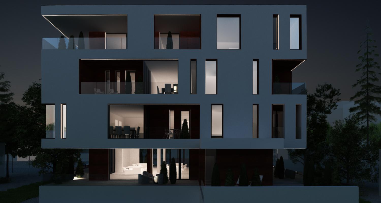 Proiect Imobil Rezidential cu 10 apartamente si office boutique Galati | Concept Design Imobil Rezidential cu 10 apartamente cod R222, Galati | proiect din portofoliul CUB Architecture