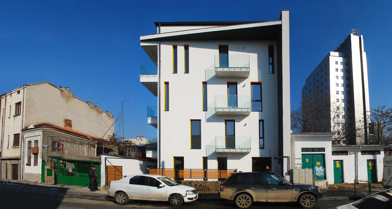 Imobil de apartamente finalizat pe Leonida Varnali, Bucuresti S1 | Lucrare finalizata Imobil de apartamente  cod VARN Fin, Bucuresti S1 | portofoliul CUB Architecture