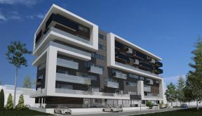 Imobil rezidential cu apartamente de 2 si 3 camere, zona Berceni, Bucuresti, S4 | Concept Design bloc de locuinte modern cu apartamente - demisol parter si 6 etaje cod BRAN in Bucuresti, S4 | Proiect din portofoliul CUB Architecture