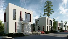 Ansamblu Rezidential cu 10 Locuinte in sistem prefabricat, Dusseldorf | Concept Design Ansamblu Rezidential cu 10 Locuinte in sistem prefabricat cu montare rapida, cod ARVA | proiect din portofoliul CUB Architecture