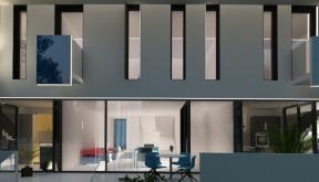 Proiect Ansamblu Rezidential cu doua ansambluri a cate 9 Case Insiruite | Concept Design Ansamblu Rezidential cu 18 Case Insiruite cod MORE in Buftea, IF | proiect din portofoliul CUB Architecture