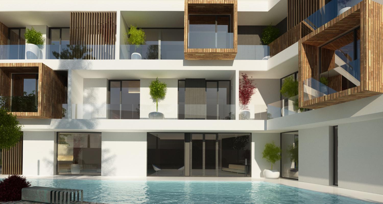 Imobil Rezidential Justitiei -  35 apartamente Bucuresti, S4 - proiect din portofoliul CUB Architecture | Concept Design finalizat pentru Imobil Rezidential Justitiei -  35 apartamente cod JUST, Bucuresti, S4 | proiect din portofoliul CUB Architecture