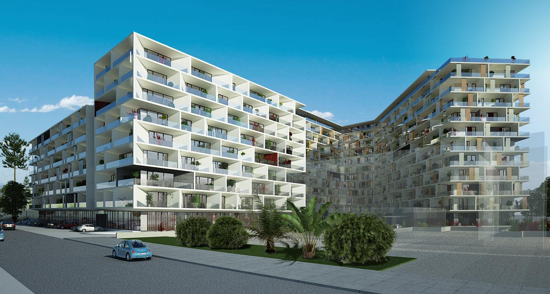 Ansamblu de doua imobile cu functiune de Apart Hotel, Sky Bar / Sali Evenimente, Comercial, Rezidential1.jpg