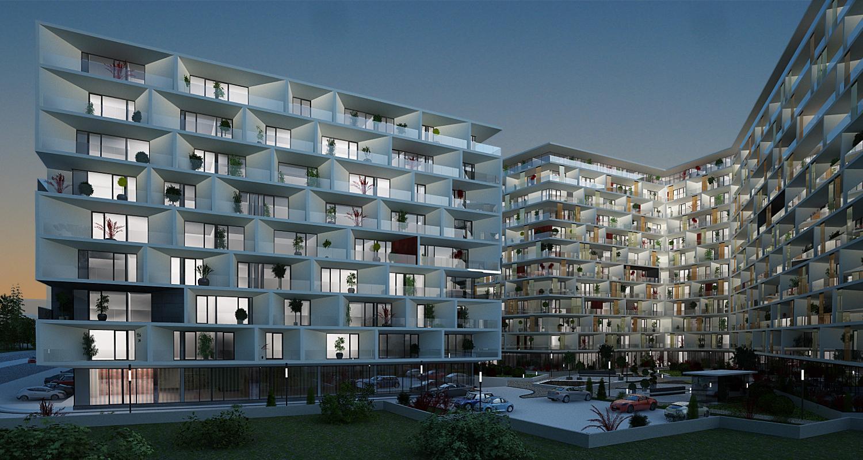 Ansamblu de doua imobile cu functiune de Apart Hotel, Sky Bar / Sali Evenimente, Comercial, Rezidential14.jpg