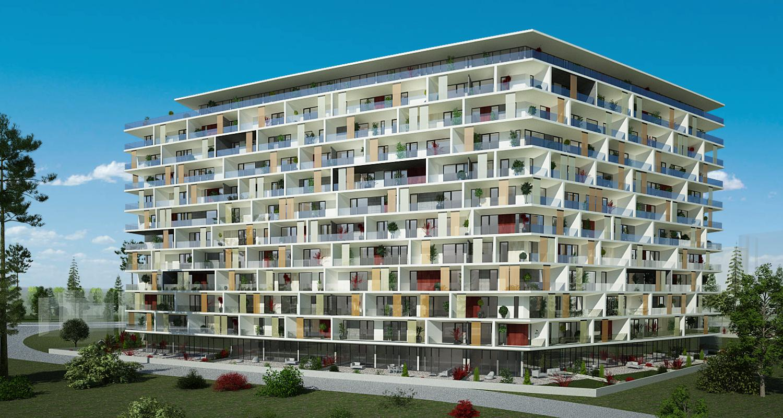 Ansamblu de doua imobile cu functiune de Apart Hotel, Sky Bar / Sali Evenimente, Comercial, Rezidential5.jpg