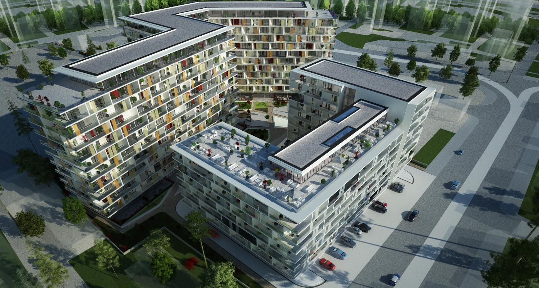 Ansamblu de doua imobile cu functiune de Apart Hotel, Sky Bar / Sali Evenimente, Comercial, Rezidential7.jpg
