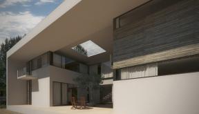 Proiect Locuinta Moderna cu Atrium Corbeanca Ilfov