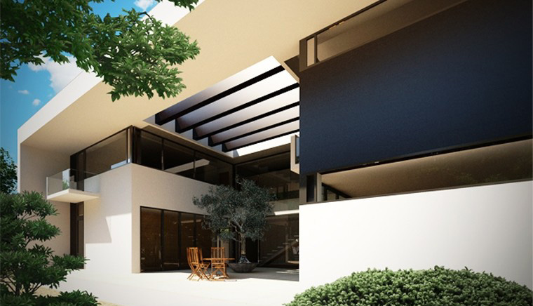 Modern Atrium House in Corbeanca, Ilfov - project from CUB ...
