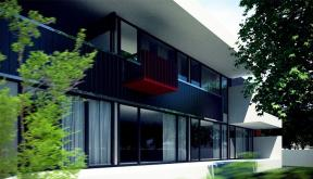 Proiect Casa Moderna cod BMM in Mogosoaia Ilfov