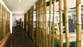 Proiect Amenajare Birouri Ipsos Interactive Services | Proiectare finalizata office planning  Ipsos Interactive Services in City Building, Bucuresti cod IISR | Lucrare din portofoliul CUB Architecture