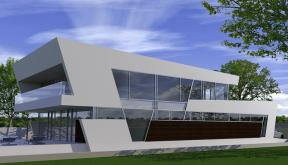 Proiecte Locuinte moderne | Proiectare finalizata casa moderna cod CFP Pitesti, Arges - proiect din portofoliul CUB Architecture