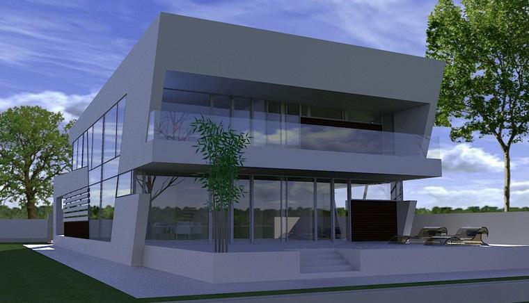 Proiecte Locuinte avantgardiste | Proiectare finalizata casa moderna cod CFP Pitesti, Arges - proiect din portofoliul CUB Architecture