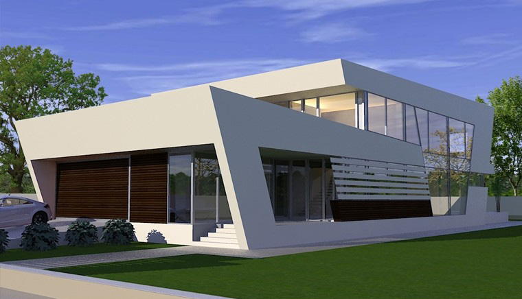 House in Pitesti, Arges - project from CUB Architecture portfolio