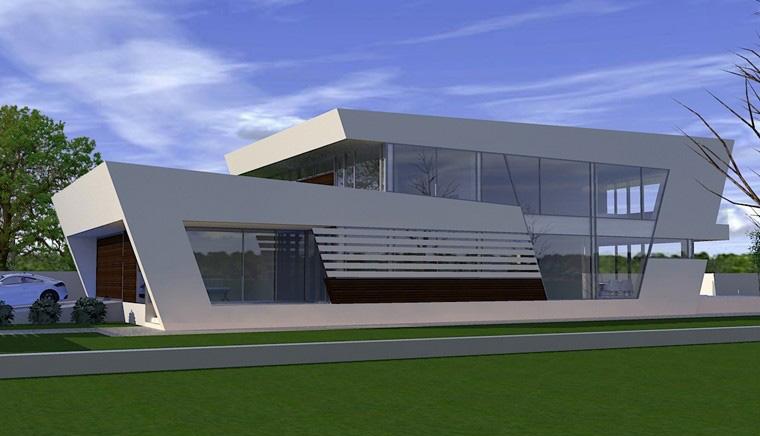Proiecte Locuinte moderne avantgardiste | Proiectare finalizata cod CFP Pitesti, Arges - proiect din portofoliul CUB Architecture