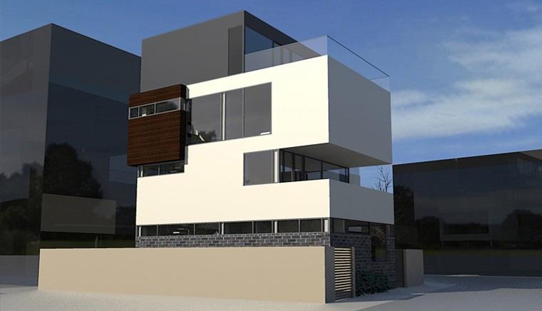 Proiect Locuinta cu parter si 3 etaje Bucuresti