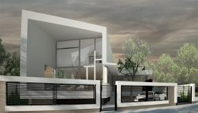Proiect Locuinta Moderna pe malul Lacului Siutghiol casa moderna cod SAI in Constanta CT