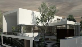 Proiect Locuinta Moderna pe malul Lacului Siutghiol casa moderna cod SAI in Constanta