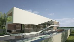 Proiect Locuinta Moderna casa pe malul lacului Cartier Damaroaia Bucuresti Sector 1