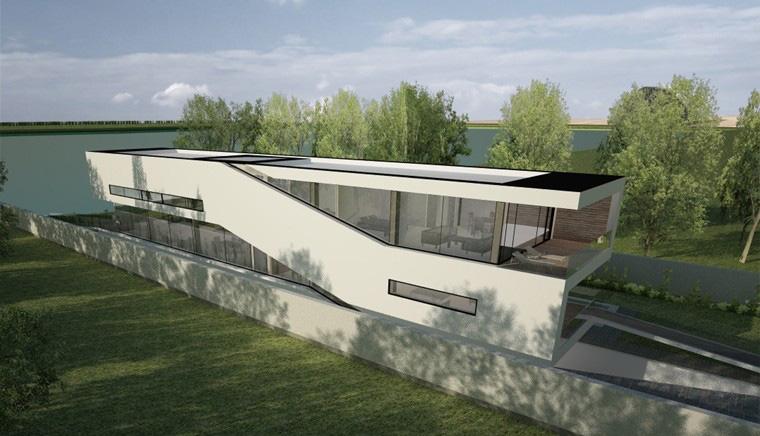 Proiect Locuinta Moderna pe malul lacului Bucuresti