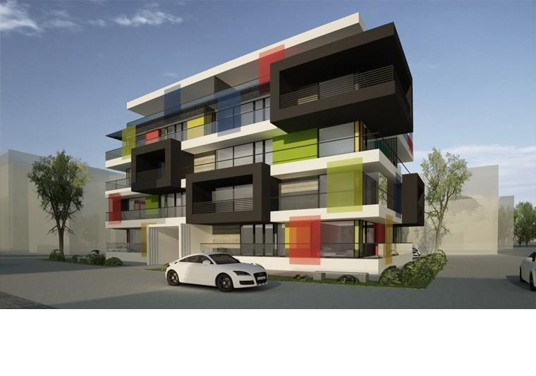 Proiect Imobil apartamete - bloc locuinte