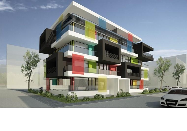 Proiect Imobil Rezidential cu 17 Apartamente Voluntari bloc de locuinte modern cu 17 apartamente cod IROL in Voluntari IF