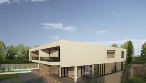 Proiect Duplex modern Proiectare finalizata cod GDP in Pantelimon, Ilfov - proiect din portofoliul CUB Architecture