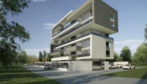 Proiect Imobil cu 25 de Apartamente de Vacanta, Neptun, CT | Concept Design Imobil cu Apartamente de Vacanta, Neptun | Proiect din portofoliul CUB Architecture