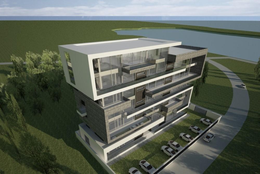 Proiect Imobil cu 25 de Apartamente, Neptun, CT | Concept Design Imobil cu Apartamente de Vacanta, Neptun | Proiect din portofoliul CUB Architecture