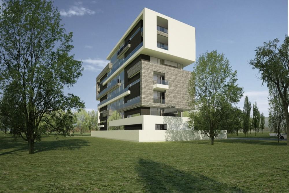 Proiect Imobil cu 25 de Apartamente, Neptun, CT | Concept Design Imobil cu Apartamente de Vacanta | Proiect din portofoliul CUB Architecture