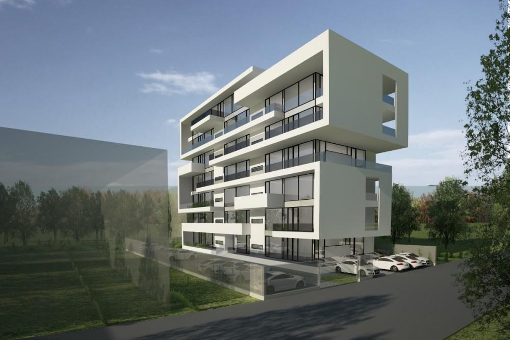 Proiect Imobil cu Apartamente de Vacanta, Neptun, CT | Concept Design Imobil cu Apartamente de Vacanta, Neptun | Proiect din portofoliul CUB Architecture