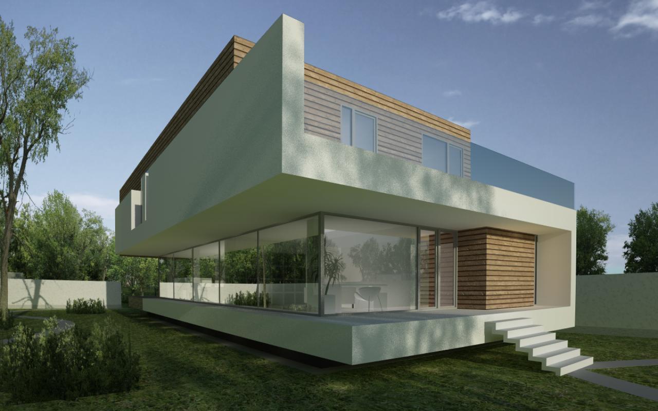 casa moderna cod MSL in Landsee Austria