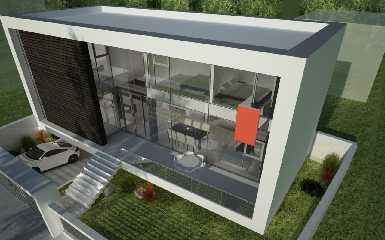 Proiect casa moderna cod GCG in Galati