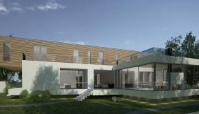 Proiect Locuinta Unifamiliala Moderna casa moderna cod SMR in Landsee Austria
