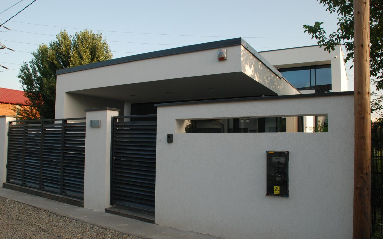 locuinta unifamiliala moderna popesti leordeni cub architecture