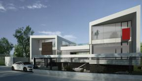 Proiect Locuinta Moderna cu Piscina Interioara casa moderna cod TAS Slobozia Ialomita
