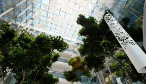 Proiect Amenajare Atrium | Concept Design in cadrul Oracle Romania in Floreasca Park, Bucuresti cod ATRI | Lucrare din portofoliul CUB Architecture
