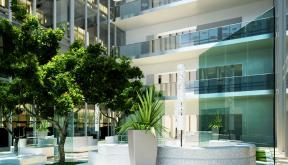 Proiect Amenajare Atrium Floreasca Park | Concept Design in cadrul Oracle Romania in Floreasca Park, Bucuresti cod ATRI | Lucrare din portofoliul CUB Architecture