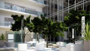 Proiect Atrium Floreasca Park | Concept Design in cadrul Oracle Romania in Floreasca Park, Bucuresti cod ATRI | Lucrare din portofoliul CUB Architecture