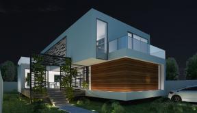 Proiect Locuinta Moderna in Valu lui Traian, Constanta | Concept Design Proiect Locuinta Moderna cod PCV | proiect din portofoliul CUB Architecture