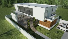 Proiect Locuinta Moderna Minimalista in Valu lui Traian, Constanta | Concept Design Proiect Locuinta Moderna in Constanta | proiect din portofoliul CUB Architecture