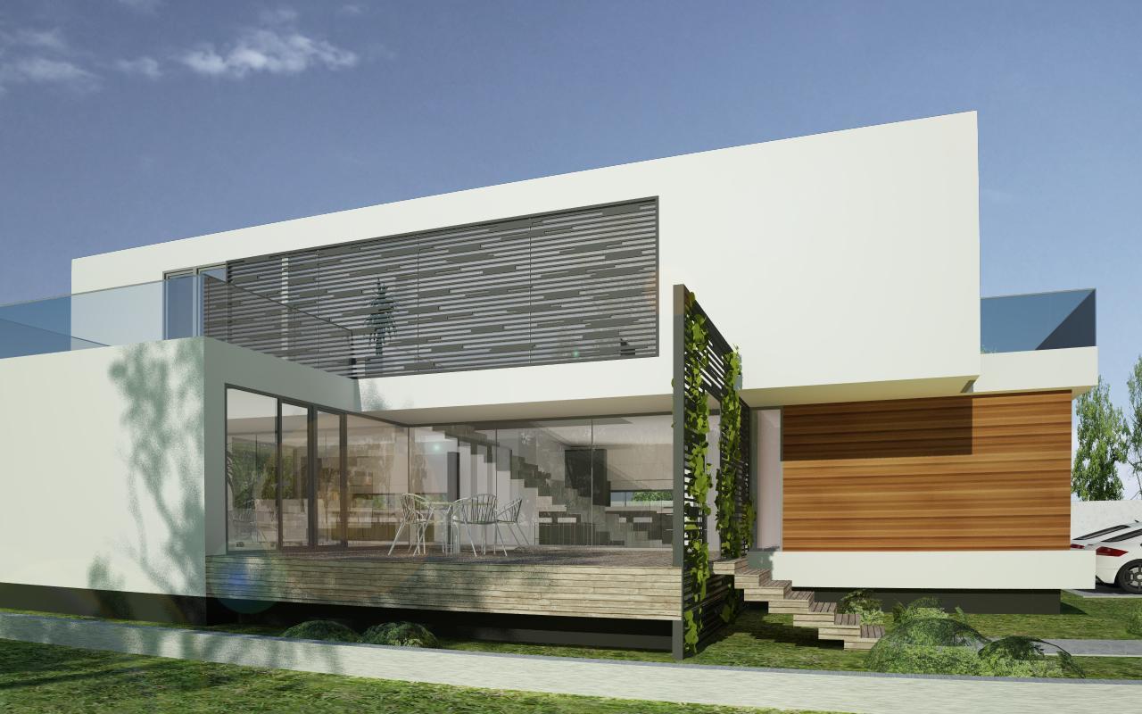 Proiect Locuinta Moderna Minimalista in Valu lui Traian, Constanta | Concept Design Proiect Locuinta Moderna Minimalista in Constanta | proiect din portofoliul CUB Architecture