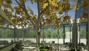 Proiect Imobil Sediu Companie modern in Otopeni, IF | Concept Design Imobil Sediu Companie cod CRVL | Proiect din portofoliul CUB Architecture