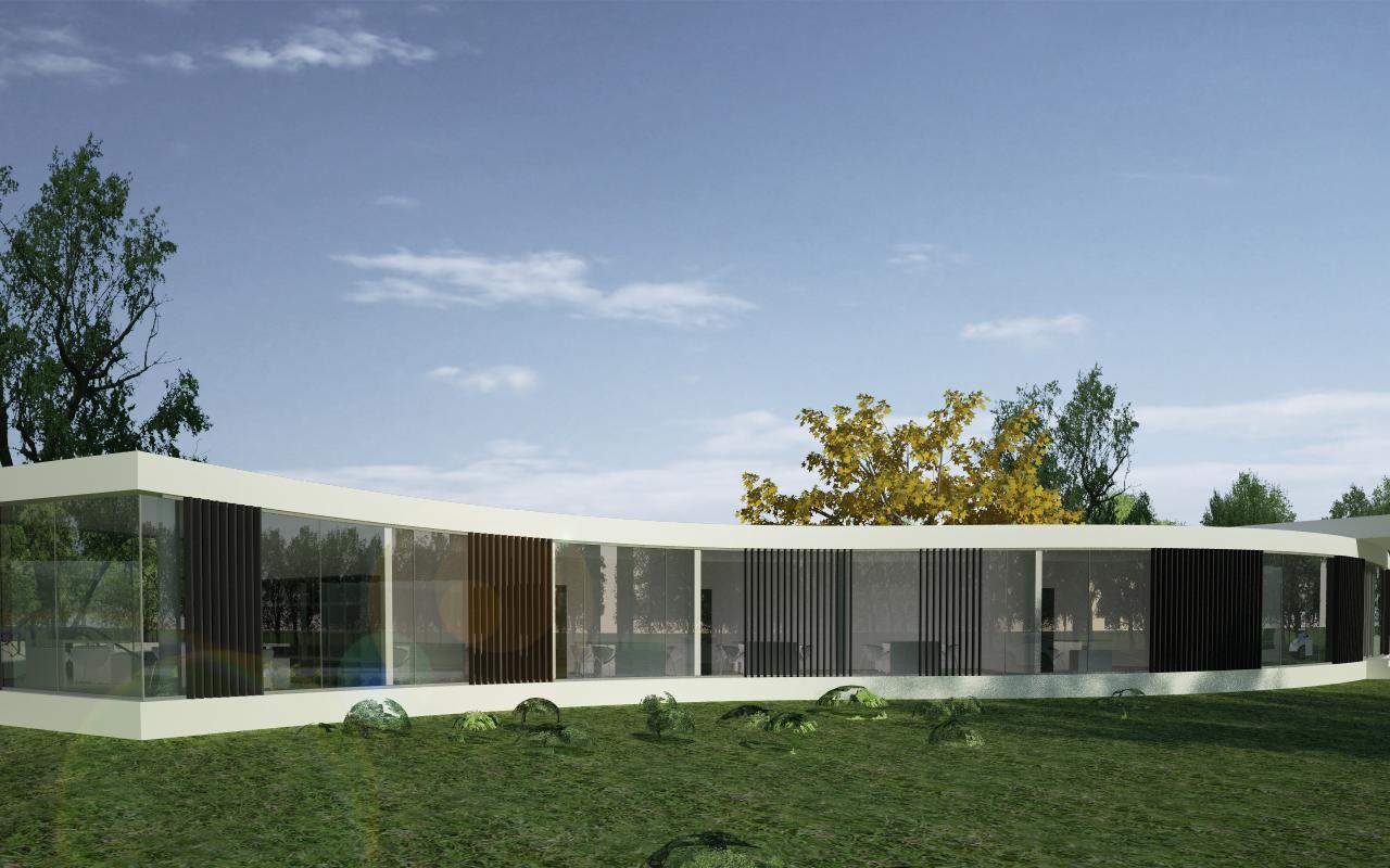 Proiect Imobil Sediu Companie in Otopeni, IF | Concept Design Imobil Sediu Companie in otopeni cod CRVL | Proiect din portofoliul CUB Architecture