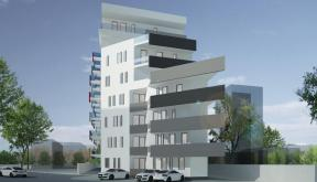 Imobil 35 apartamente Bucuresti, Sector 1 | Concept Design bloc de locuinte modern cu 35 de apartamente cod BVAB in Bucuresti, Sector 1 | Proiect din portofoliul CUB Architecture