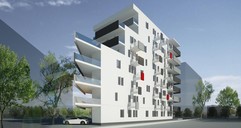 Imobil 35 apartamente Bucuresti | Concept Design bloc de locuinte modern cu 35 de apartamente cod BVAB in Bucuresti, Sector 1 | Proiect din portofoliul CUB Architecture