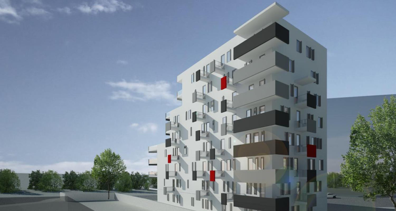 Imobil 35 apartamente Bucuresti, Sector 1 | Concept Design bloc de locuinte modern cu 35 de apartamente cod BVAB in Bucuresti | Proiect din portofoliul CUB Architecture