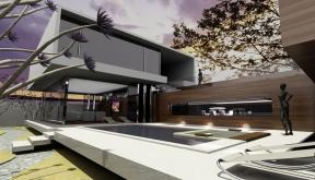 Locuinta Unifamiliala Moderna casa moderna cu piscina cod AFV Voluntari Ilfov