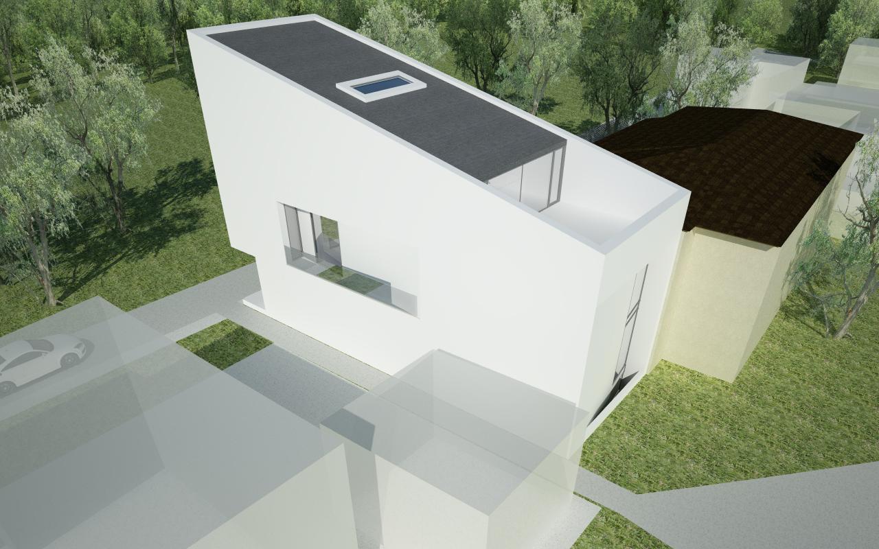 Insertie Urbana in tesut existent Locuinta Unifamiliala Pitesti, Arges cod RVP proiect din portofoliul CUB Architecture