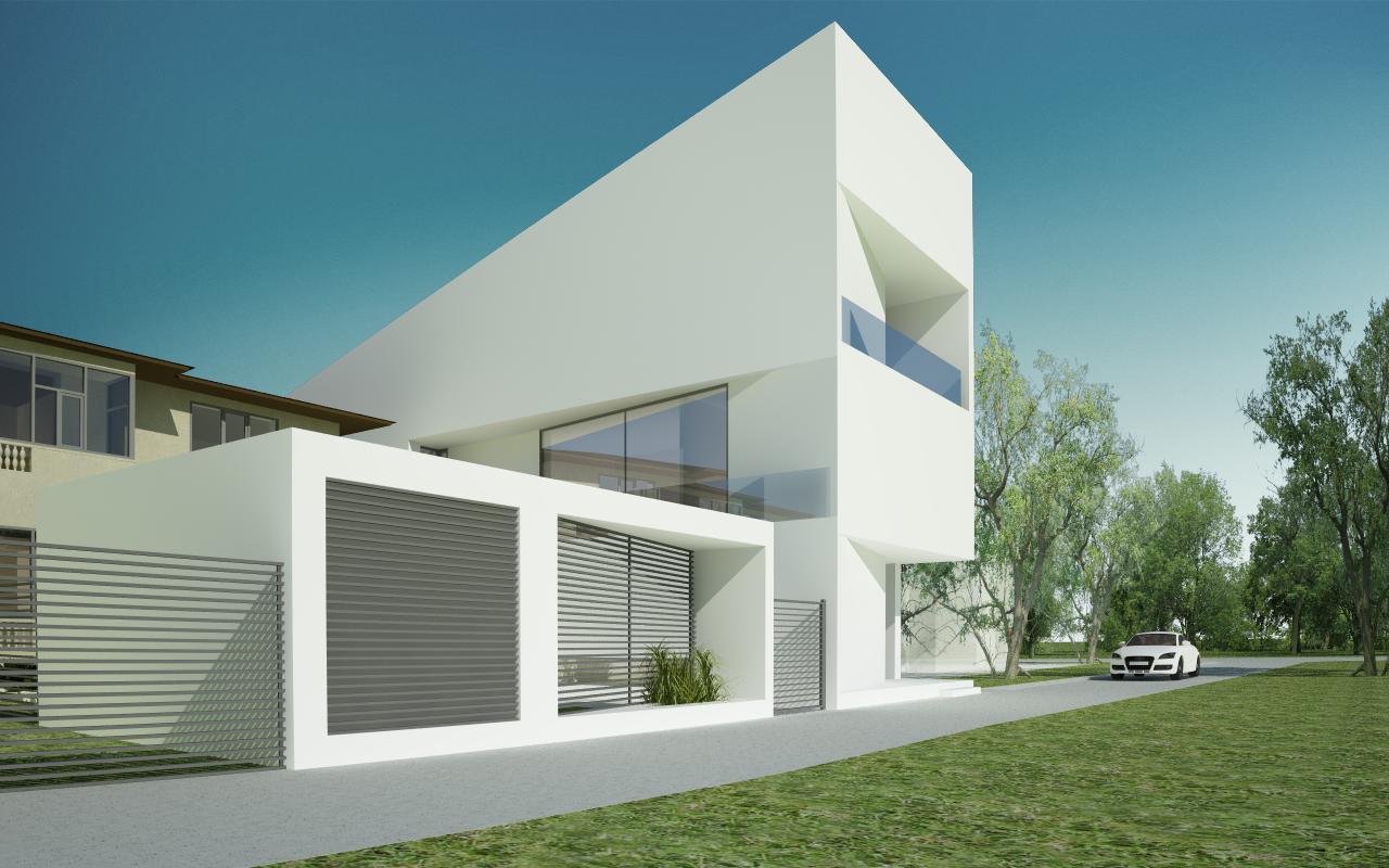 Insertie Urbana Locuinta Unifamiliala Pitesti, Arges cod RVP proiect din portofoliul CUB Architecture